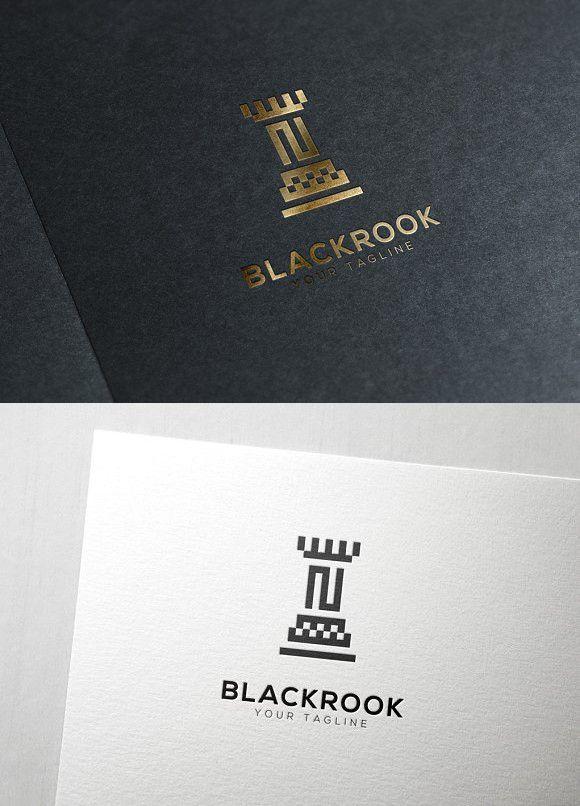Chess Rook Logo.