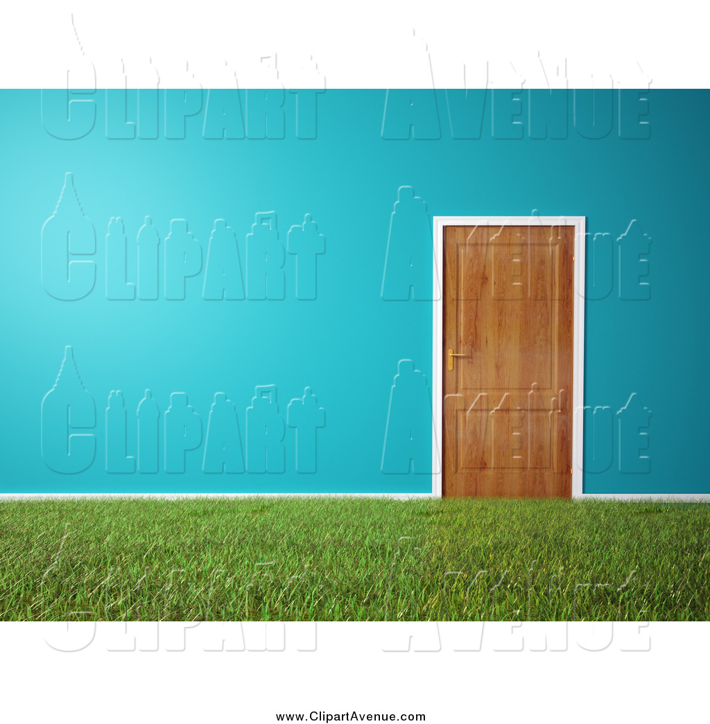 Royalty Free Stock Avenue Designs of Doors.