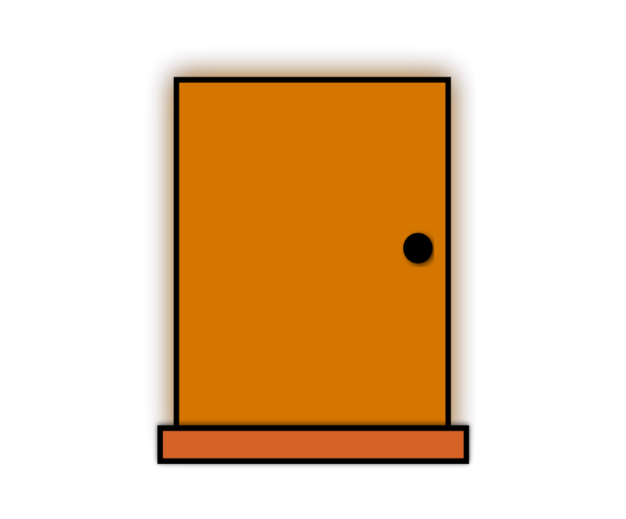 Open Door Clipart.