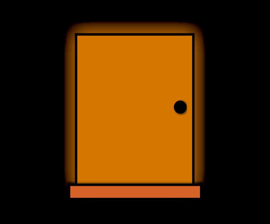 Open Door Clipart.
