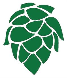 Beer Hops Stencil.