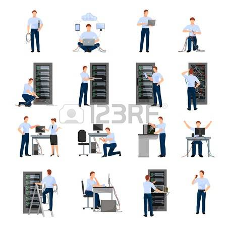 1,024 Server Room Stock Vector Illustration And Royalty Free.