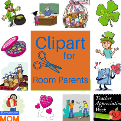 Clipart for Room Parents.