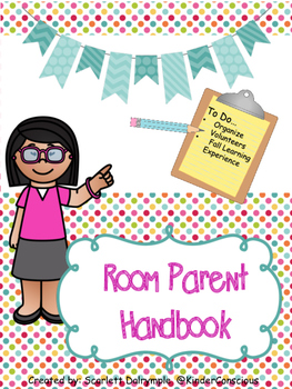 Room Parent Handbook.