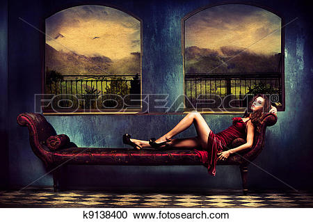 Stock Photography of Room with a view k9138400.