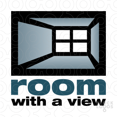Exclusive Customizable Logo For Sale: Room with a view.