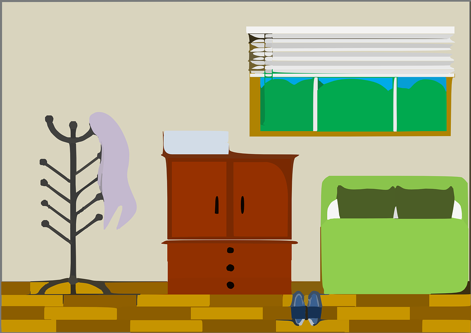 Free vector graphic: Living Room, House, Room, Bedroom.