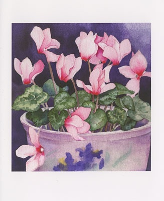 1000+ images about Cyclamen in art on Pinterest.