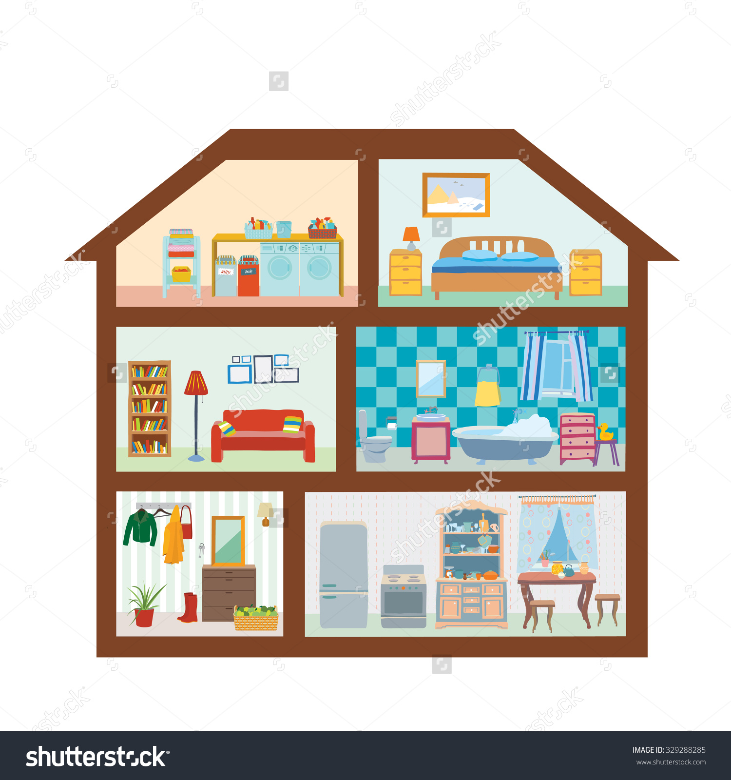 Rooms In The House. rooms of the house clipart   Clipground