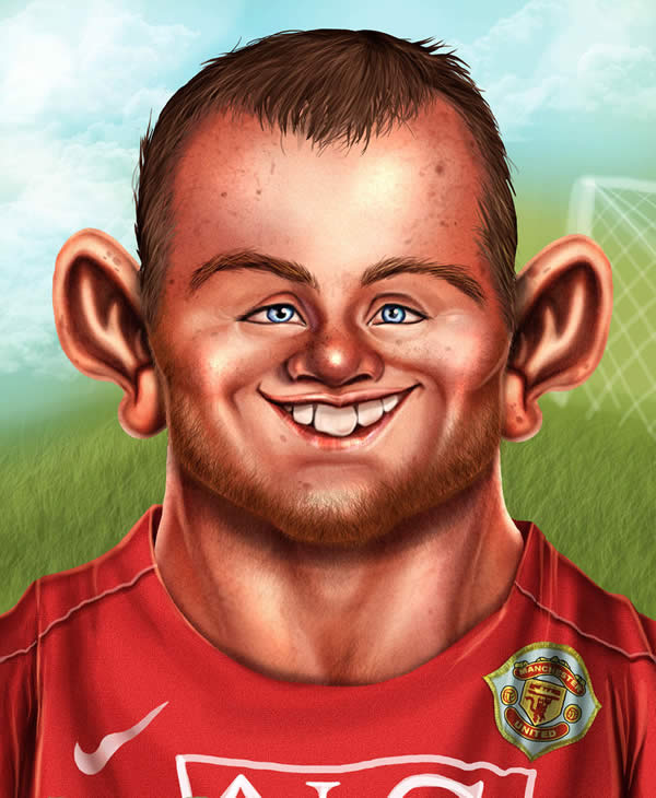 Rooney clipart.