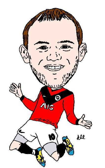Gallery For > Wayne Rooney Clipart.