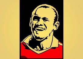 Wayne Rooney, Vector Graphic.