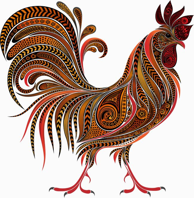 Rooster Clipart Transparent.