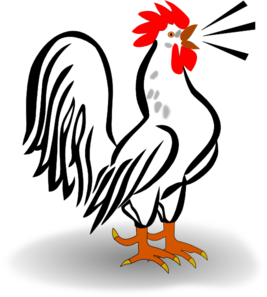 Rooster Clip Art Free.