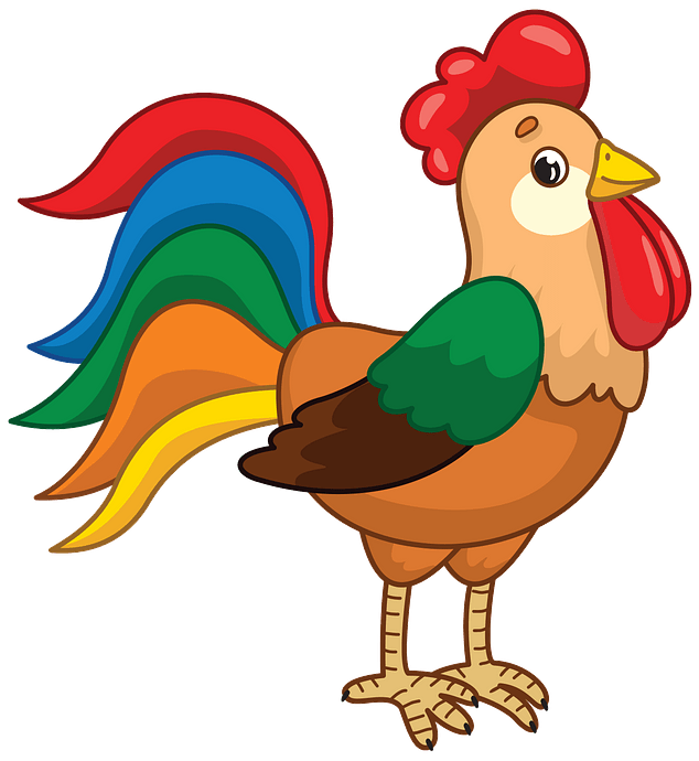 Rooster clipart. Free download..