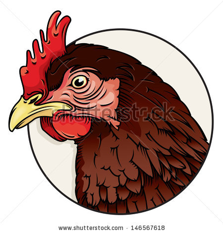 Rooster Crowing Isolated Stock Photos, Royalty.