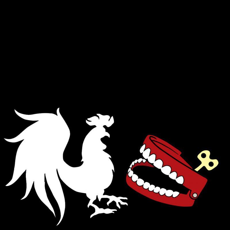 Rooster teeth Logos.