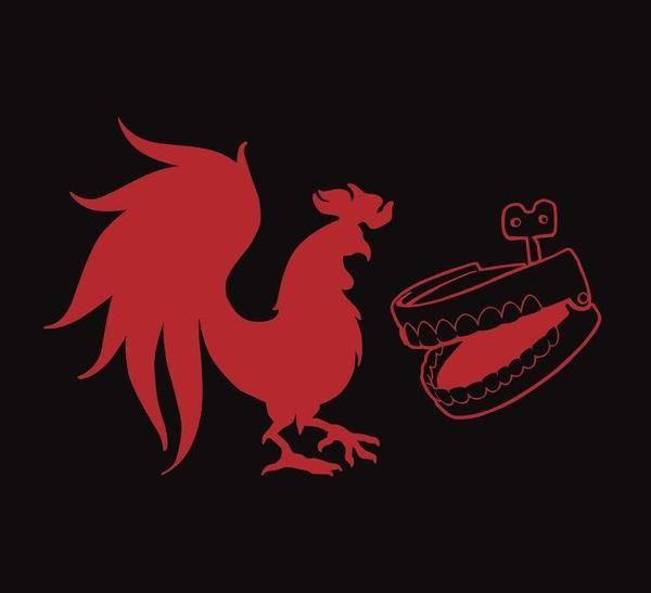 Rooster Teeth Logo Vinyl Decal (Red).