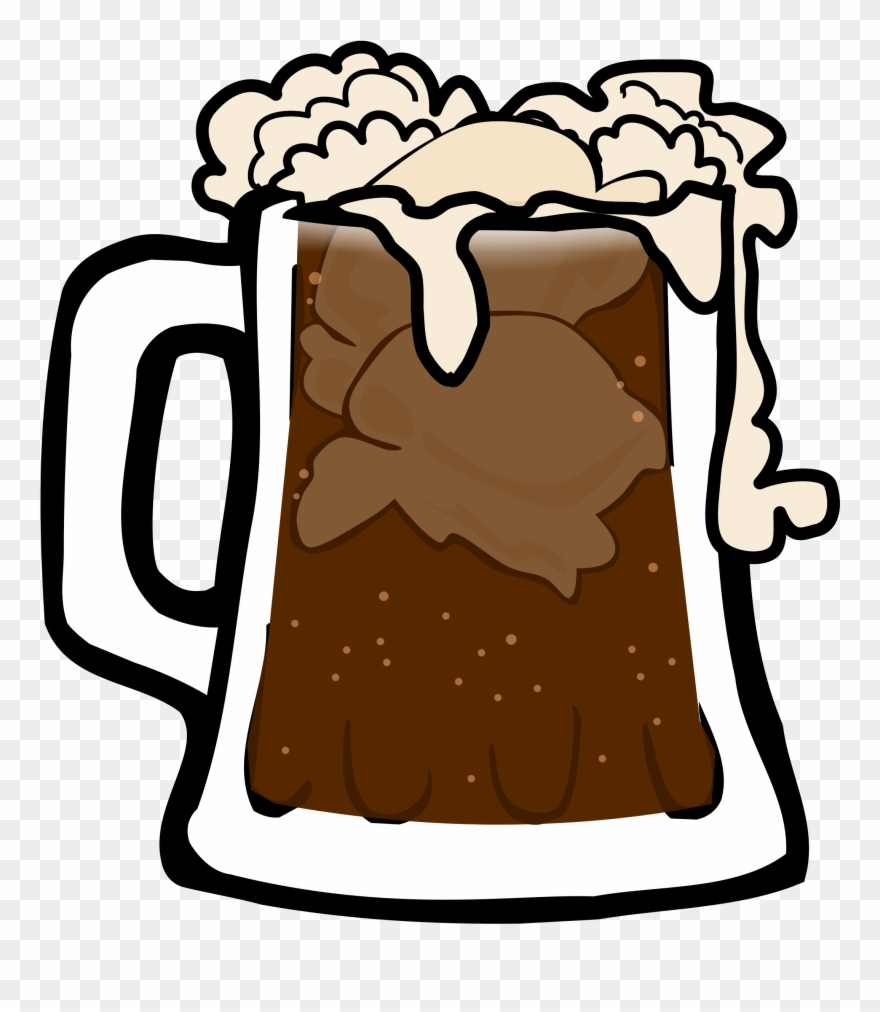 Beer Clipart Root Beer Float.