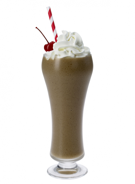 Root Beer Float Frappe.