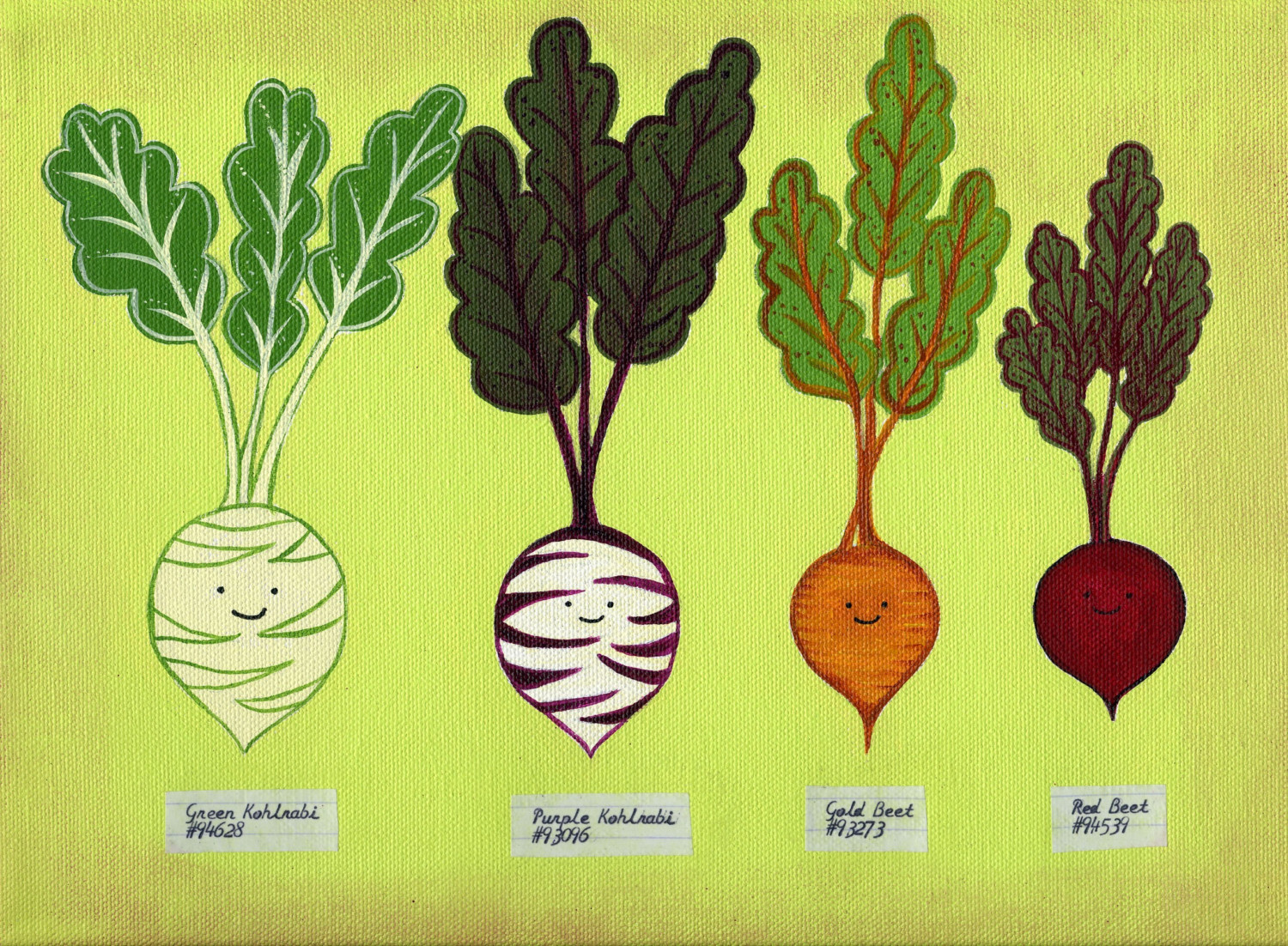 Root vegetables clipart.