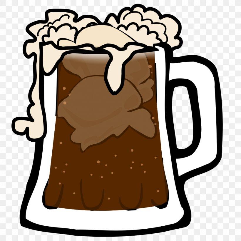A&W Root Beer Beer Glassware Clip Art, PNG, 899x900px, Beer.