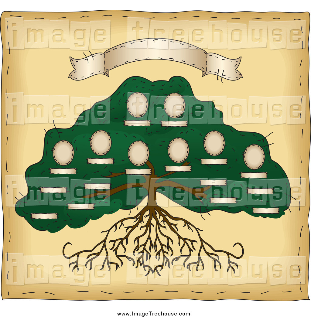 Roots Banner Clipart.
