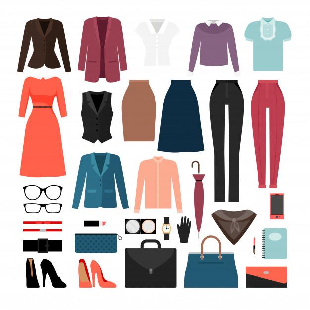 Ropa de mujer y accesorios.