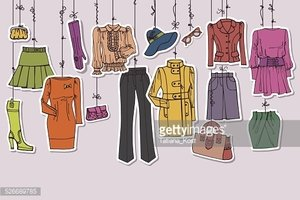 Ropa mujer clipart clipart images gallery for free download.