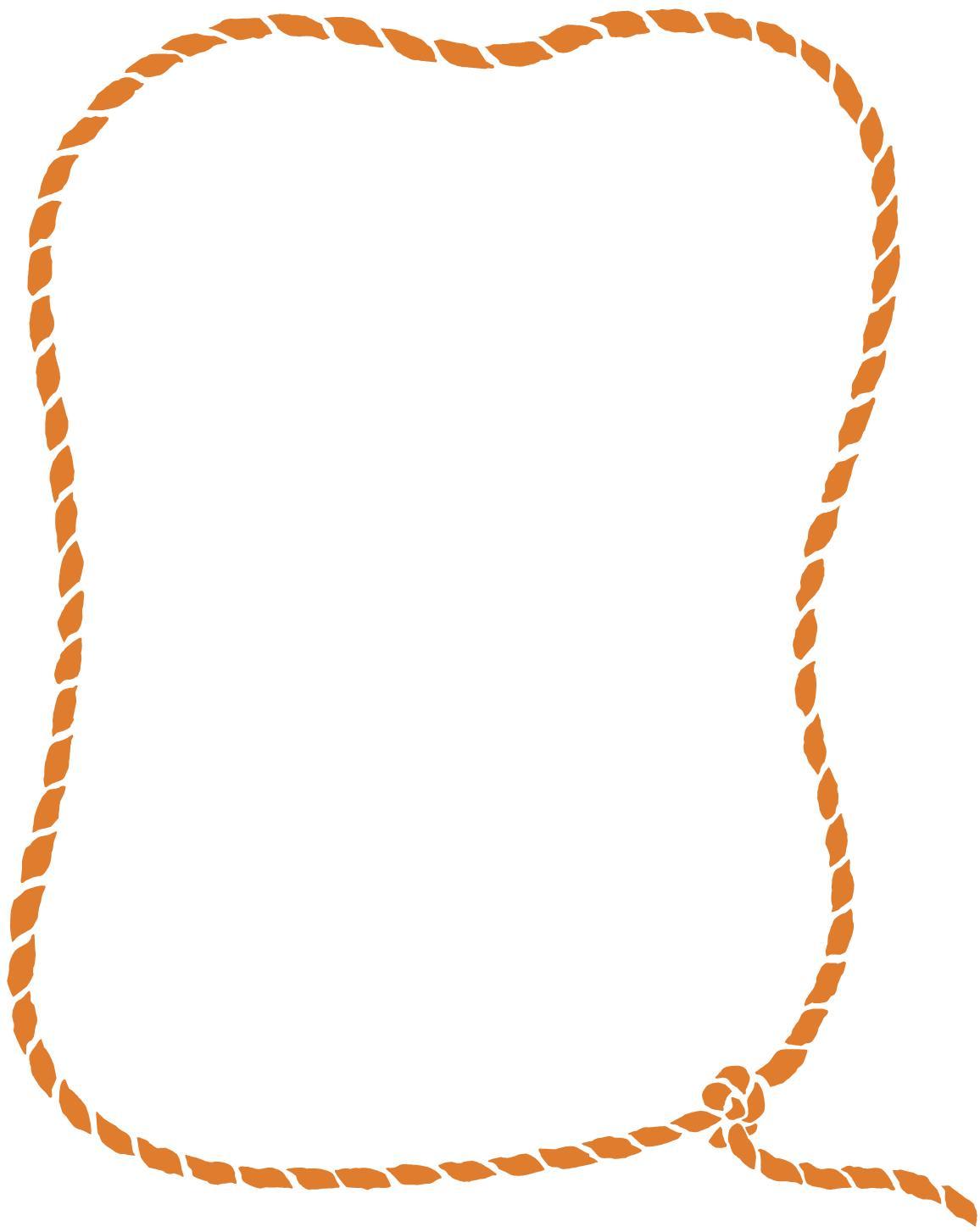 Rope Border Clip Art N46 free image.