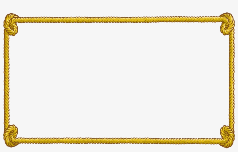 Rope Clipart Rectangular.