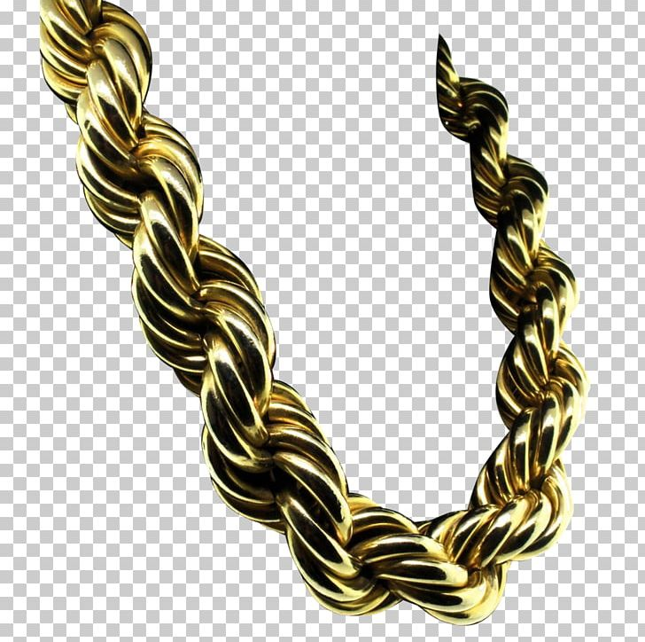 Rope Chain Necklace Jewellery Gold PNG, Clipart, Body.