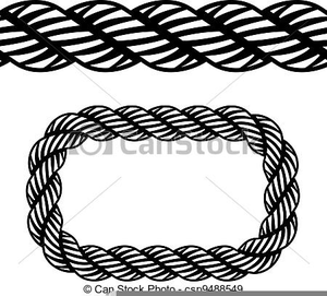 Rope Clipart Borders.