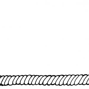 Rope Clipart Black And White.