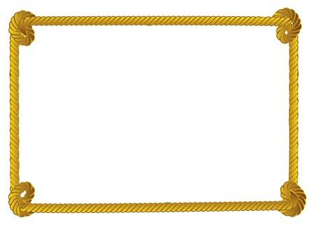 Free Rope Border Free Download Clip Art.
