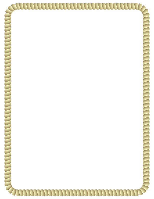 Free Clipart: Rope Border.