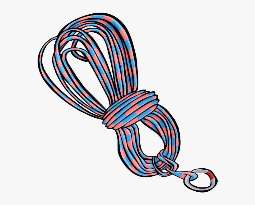 Blue Climbing Rope Clothing Icon Id 3052.