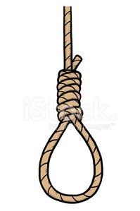 Suicide Rope premium clipart.