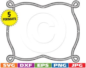 Round nautical frame, Nautical frame, Round frame, Rope frame.