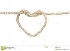 Rope Heart Clip Art.