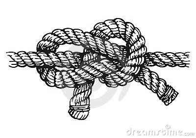 Rope Knot Clipart #1.