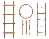 Rope Ladder Stock Illustrations.