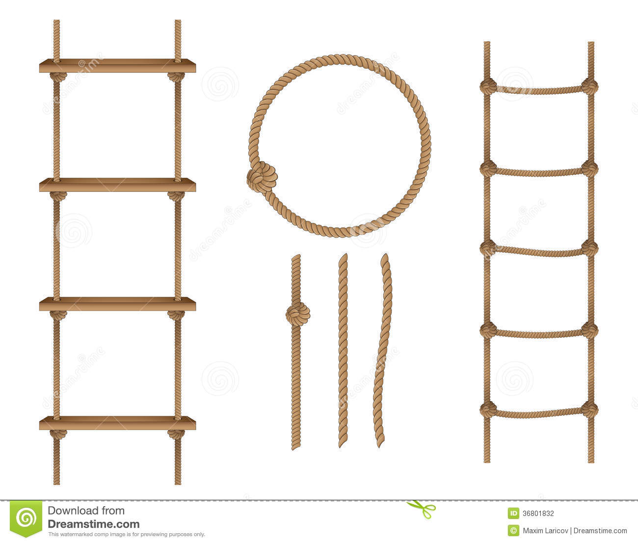 Rope ladder clipart - Clipground for Rope Ladder Knot  45hul