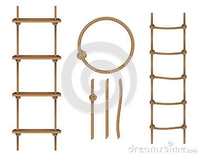 Rope Ladder Clip Art.