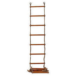 Wooden Rope Ladder.