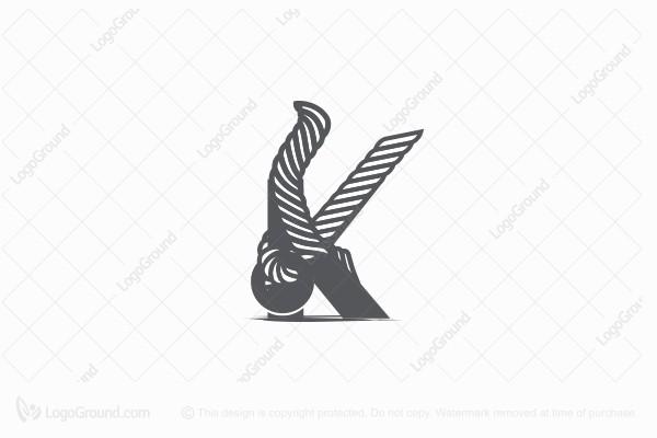 Exclusive Logo 36181, Rope K Logo.
