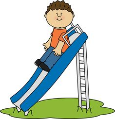 Boy Playing with Jump Rope Clip Art.