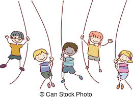 Rope swing Clipart Vector and Illustration. 393 Rope swing clip.