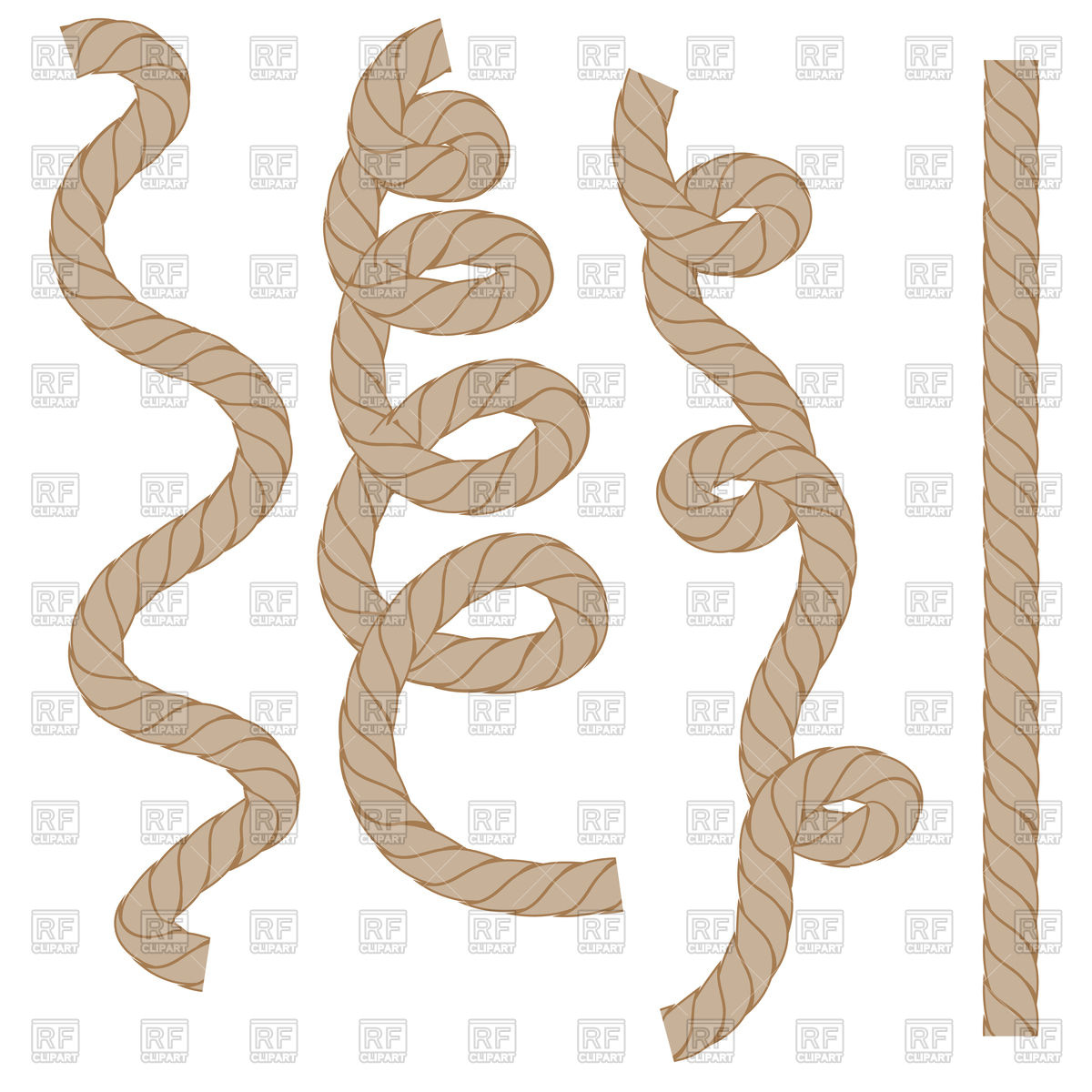 Anchor Rope Clipart Clip art of Rope Clipart #6263 — Clipartwork.