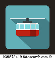 Ropeway Clipart and Stock Illustrations. 30 ropeway vector EPS.